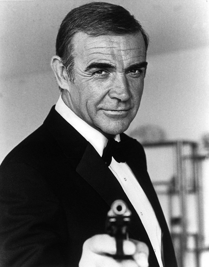 sean connery as agent 007