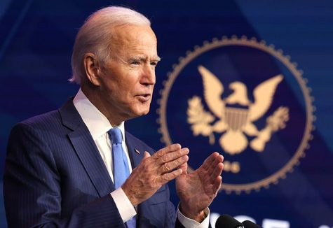 President-elect briefs the public