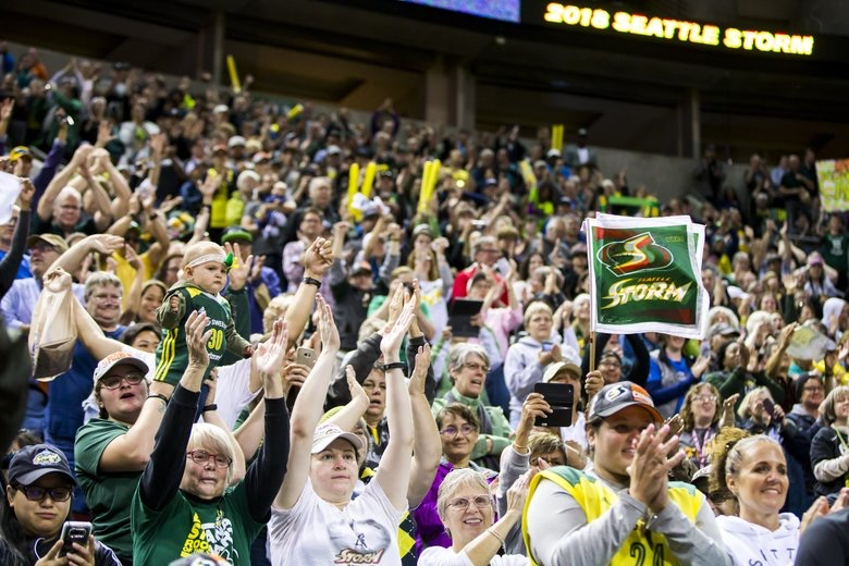 Seattle Storm Welcoming Back Fans