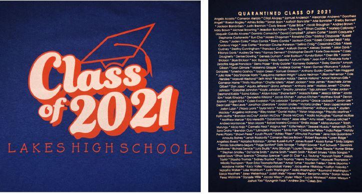 021 senior T-shirt image
